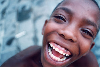 Photo: cuban boy with huge smile. Tracey Eaton photo