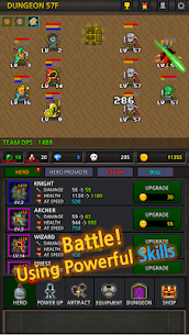 Grow Heroes Vip Idle RPG MOD (Free Upgrades) 1