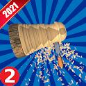 Wood Turning Games Simulator 2021 icon