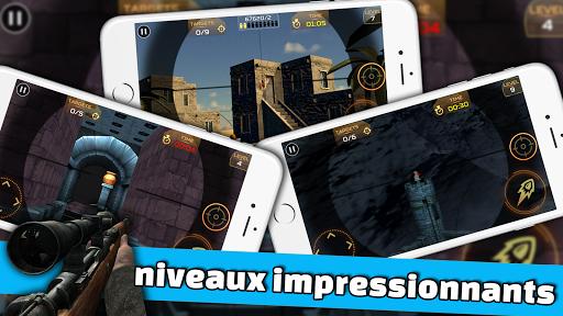 Code Triche Ultimate Sniper: 3D Tireur d'arme à feu apk mod screenshots 3