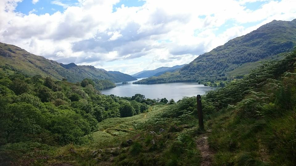 You want to enjoy the views on the West Highland Way and not be worrying about bags