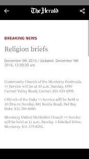 Monterey County Herald- screenshot thumbnail