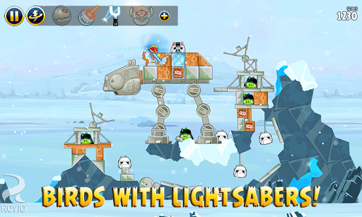 Angry Birds Star Wars  captures d'u00e9cran 2
