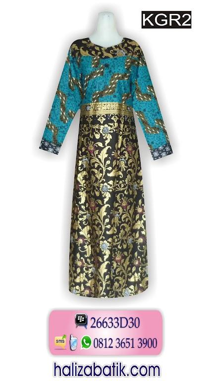 Gambar Model Batik, Harga Baju Gamis Batik, Batik Gamis Grosir, KGR2