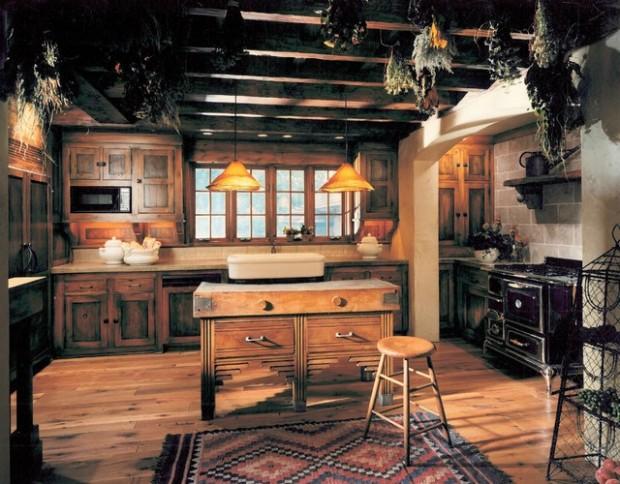 Dosis arquitectura dise os de la cocina r stica perfectas - Cocinas antiguas rusticas ...