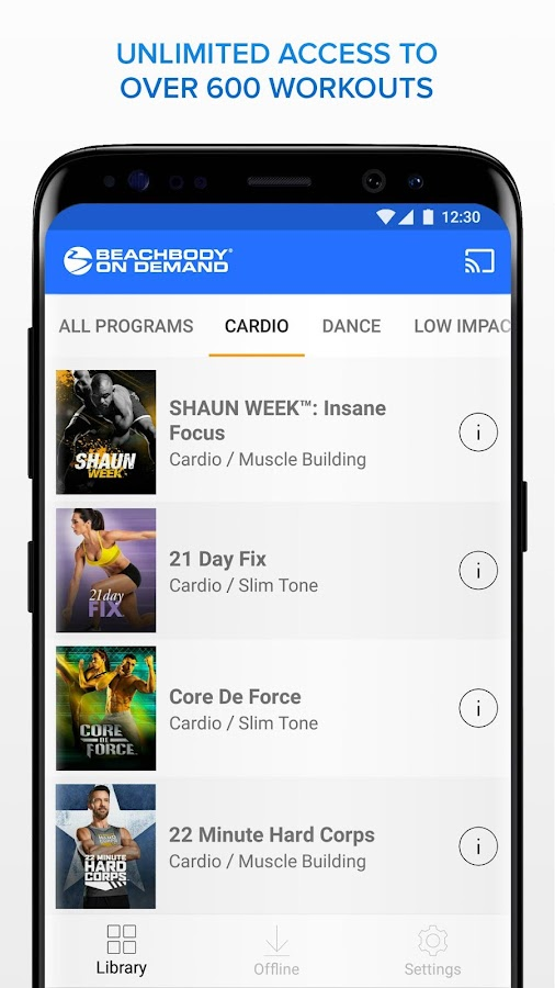Beachbody On Demand - The Best Fitness Workouts- screenshot