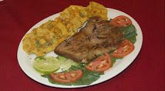 *Grilled Flank Steak / Sobrebarriga a la plancha