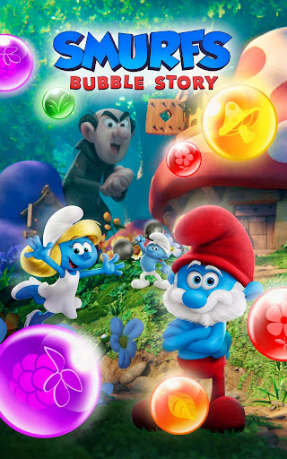 Smurfs Bubble Shooter Story 2.15.050204 screenshots 24