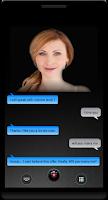 Screenshot of Talking Girl Friend