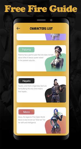 Guide For Free Fire Diamond 2020 1.0 screenshots 3