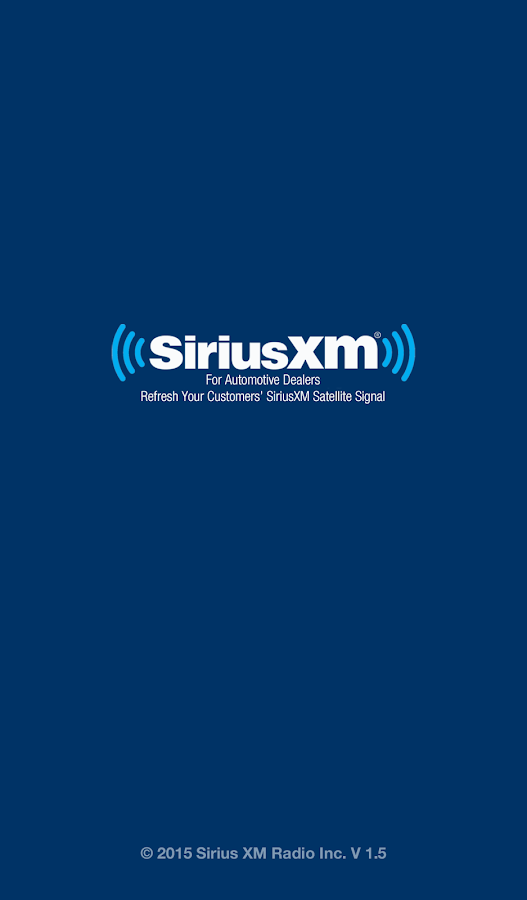 SiriusXM Dealer- screenshot