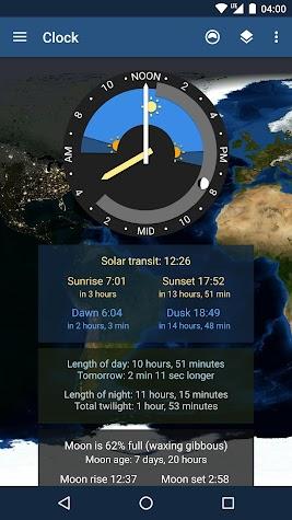 TerraTime Pro Screenshot
