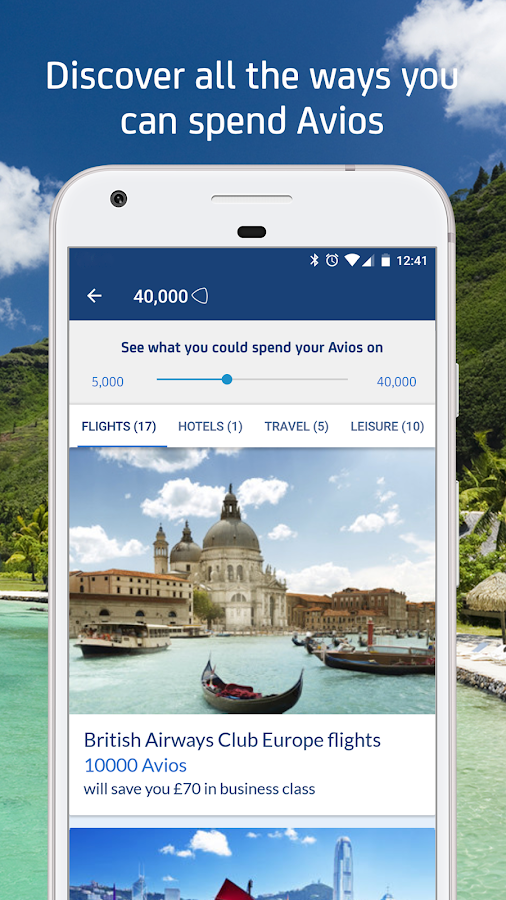 Avios for Android- screenshot