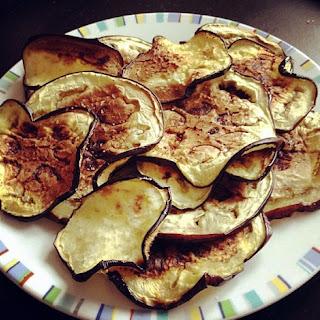 Eggplant Chips (Vegan)