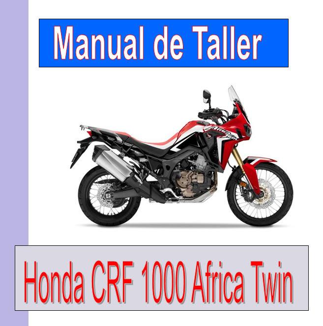 Honda CRF 1000 Africa Twin  -manual-taller-mecanica-despiece