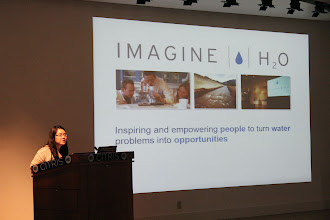 Photo: Ivy Nguyen from Imagine H2O introduces their water accelerator