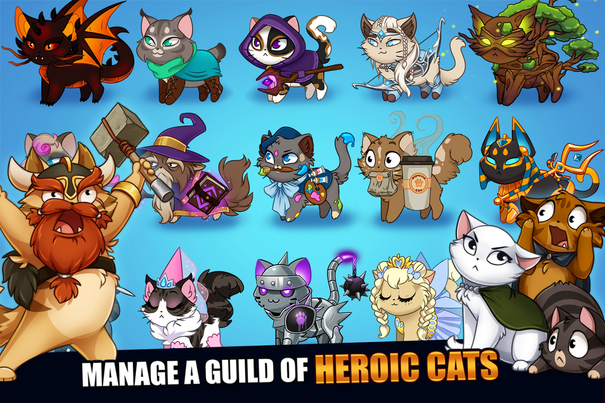 Castle Cats: Epic Story Quests- screenshot