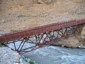 Photo: Isfayram-say river, red brige