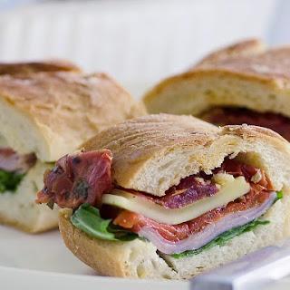 Stuffed Baguette Sandwiches.