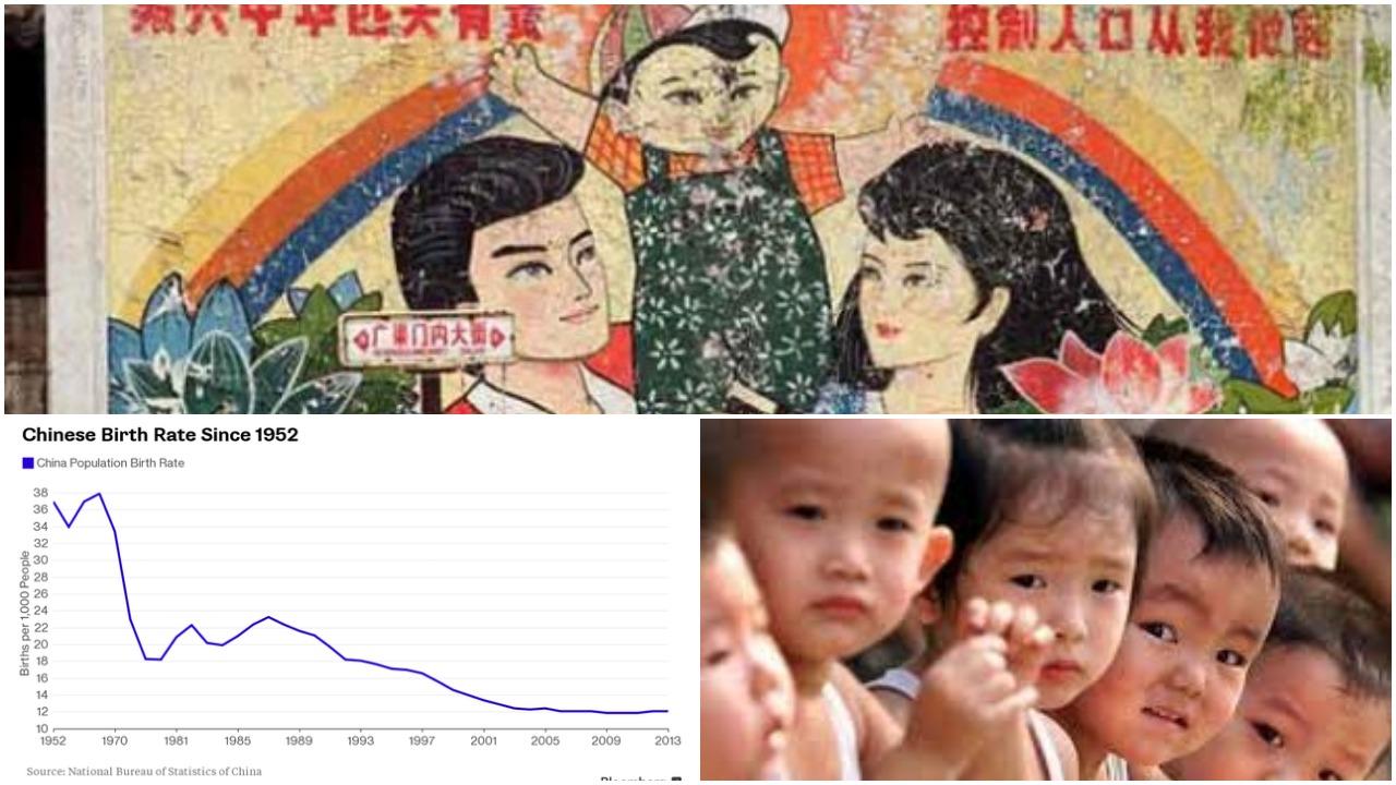 """""""Chính sách một con"""" hà khắc đã khiến tỷ lệ sinh giảm đến mức báo động và gây ra bi kịch cho biết bao gia đình (Ảnh: tổng hợp)"""