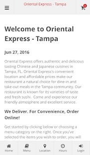 Oriental Express - Tampa- screenshot thumbnail