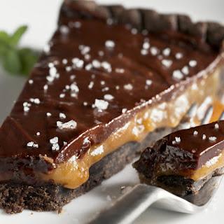 Chocolate Caramel Tartlets.