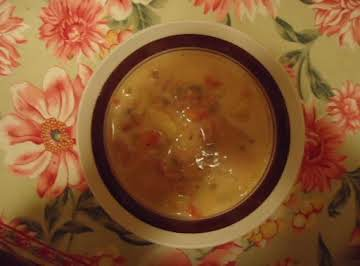 Grammy Barb's Potato Ham Soup
