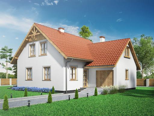 projekt Domek Modrzewiowy BK