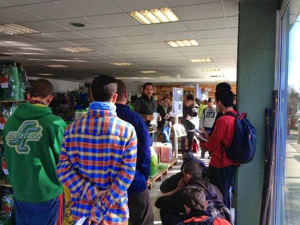 Photo: Visita dels alumnes de EFA Quintanes 06/02/15