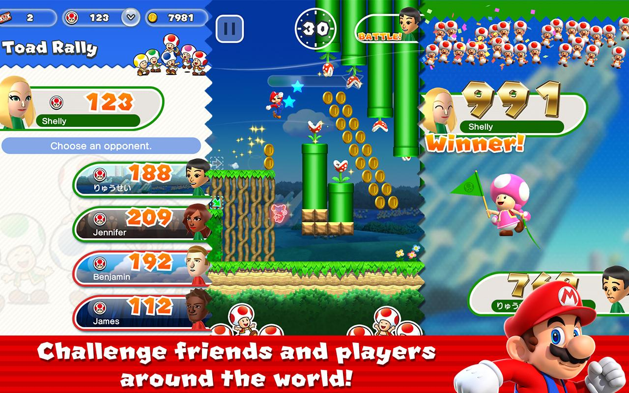 Super Mario Run- screenshot