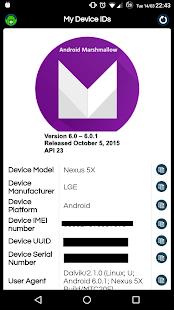 My Device IDs 1