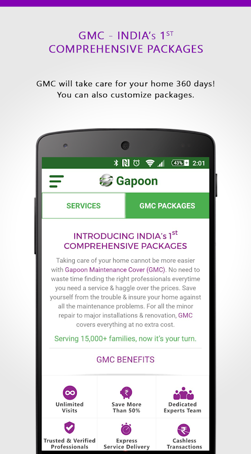 Gapoon - Professional Services- screenshot