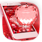 Red Crystal Apple Theme