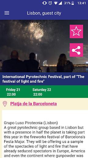 Mercè 18 Festa Major Barcelona 6.0.7 screenshots 5