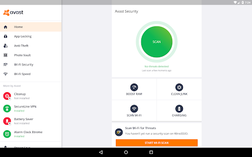 Avast Mobile Security & Antivirus 2018 Screenshot