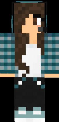 Anime Creeper Girl Wallpaper Cute Gamer Girl Nova Skin