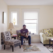 Photo: title: Sandeep Ray, Oshkosh, Wisconsin date: 2016 relationship: friends, art, met at Hampshire College years known: 25-30