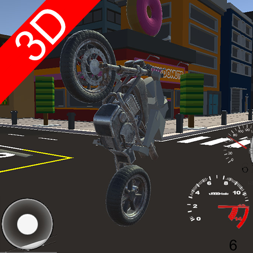 3D Fast Motorcycle Driver