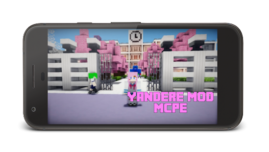 Yandere mod for MCPE - náhled