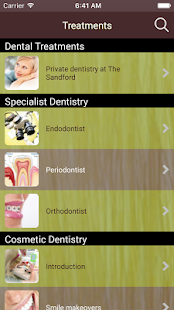 The Sandford Dental Centre- screenshot thumbnail