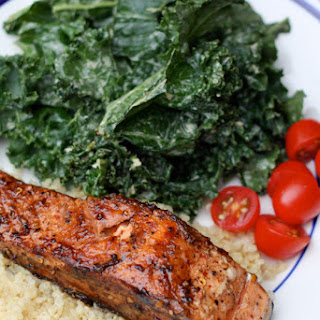 Quick and Easy Balsamic Salmon.