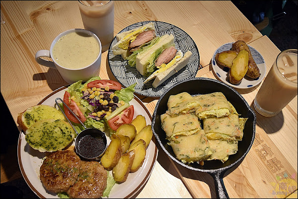 創意廚房早午餐 X 瓜瓜園