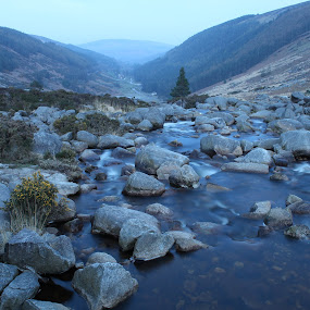 Glendalough Water by Morgan Bardon - Landscapes Waterscapes ( glendalough, long exposure, water, landscape, ireland )