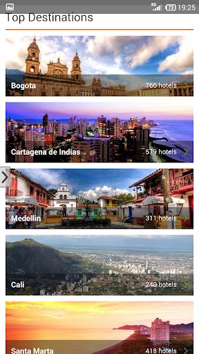 Hotels price Colombia tritogo