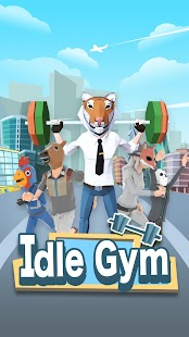 Idle Gym - fitness simulation game Screenshot