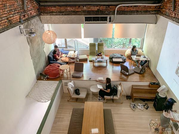 老宅的慵懶空間,不限時咖啡廳/甜點,南京復興咖啡廳|貝克宅Roasting House