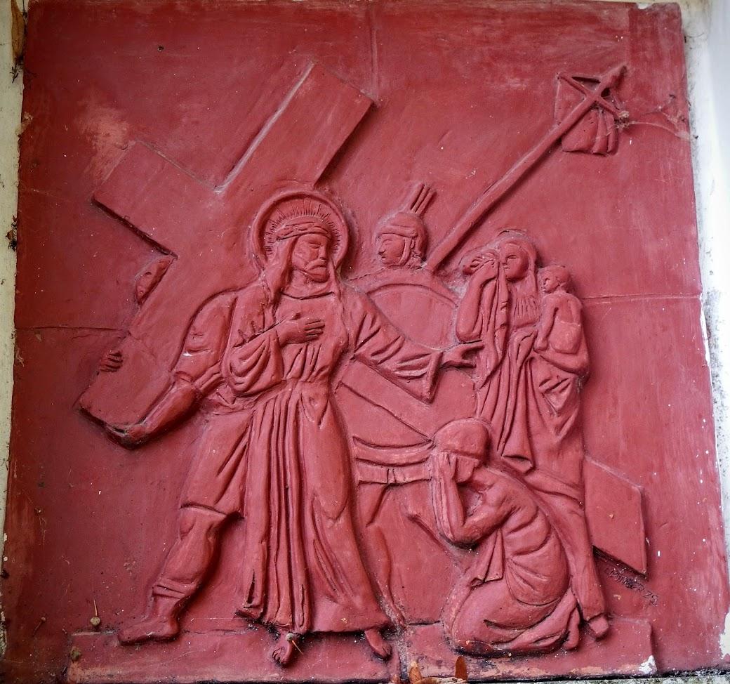 Bakonyszücs - Koppány kápolnája a keresztúttal