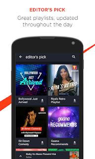 Gaana: Bollywood Music & Radio screenshot 03