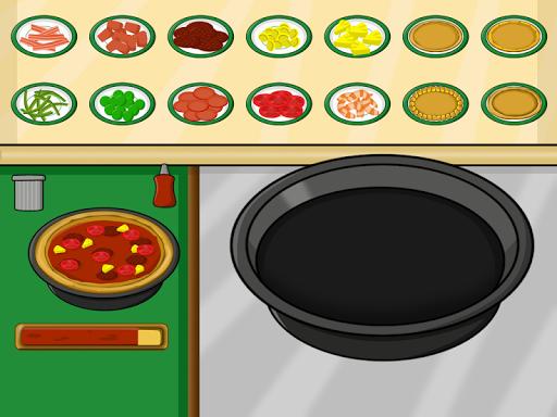 比萨制作游戏的孩子