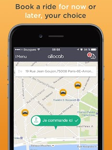 Allocab Private Cab Driver- screenshot thumbnail